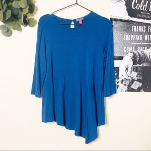 VINCE CAMUTO ELBOW SLEEVE TUNIC